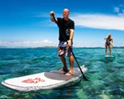 Learn how to use a stand up paddleboard with our lessons