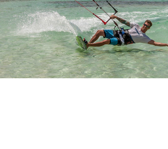 Anguilla's only Kiteboarding Academy