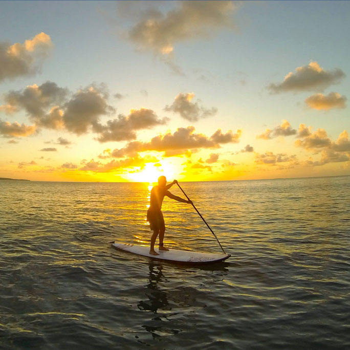 Standup Paddleboarding Lessons in Anguilla