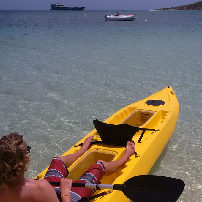 Glass Bottom Kayak Tours & Rentals